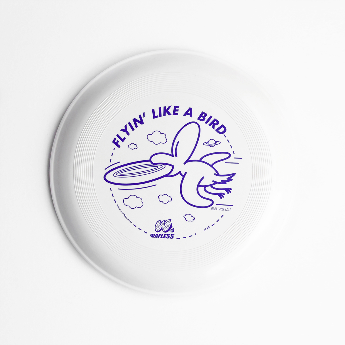 Flyin Like a Bird – frisbee