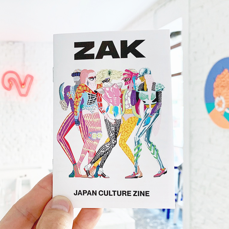 ZAK 1 – Japan Culture Zine, velmi limited