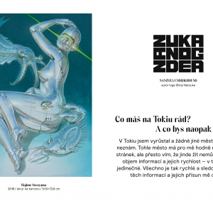 ZAK 2 – Japan Culture Zine, velmi limited